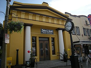 Jacob Furth - The former First National Bank of Snohomish building, built 1907.