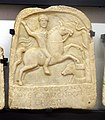 Sofia Archeological Museum Votive tablet Horseman 04.jpg