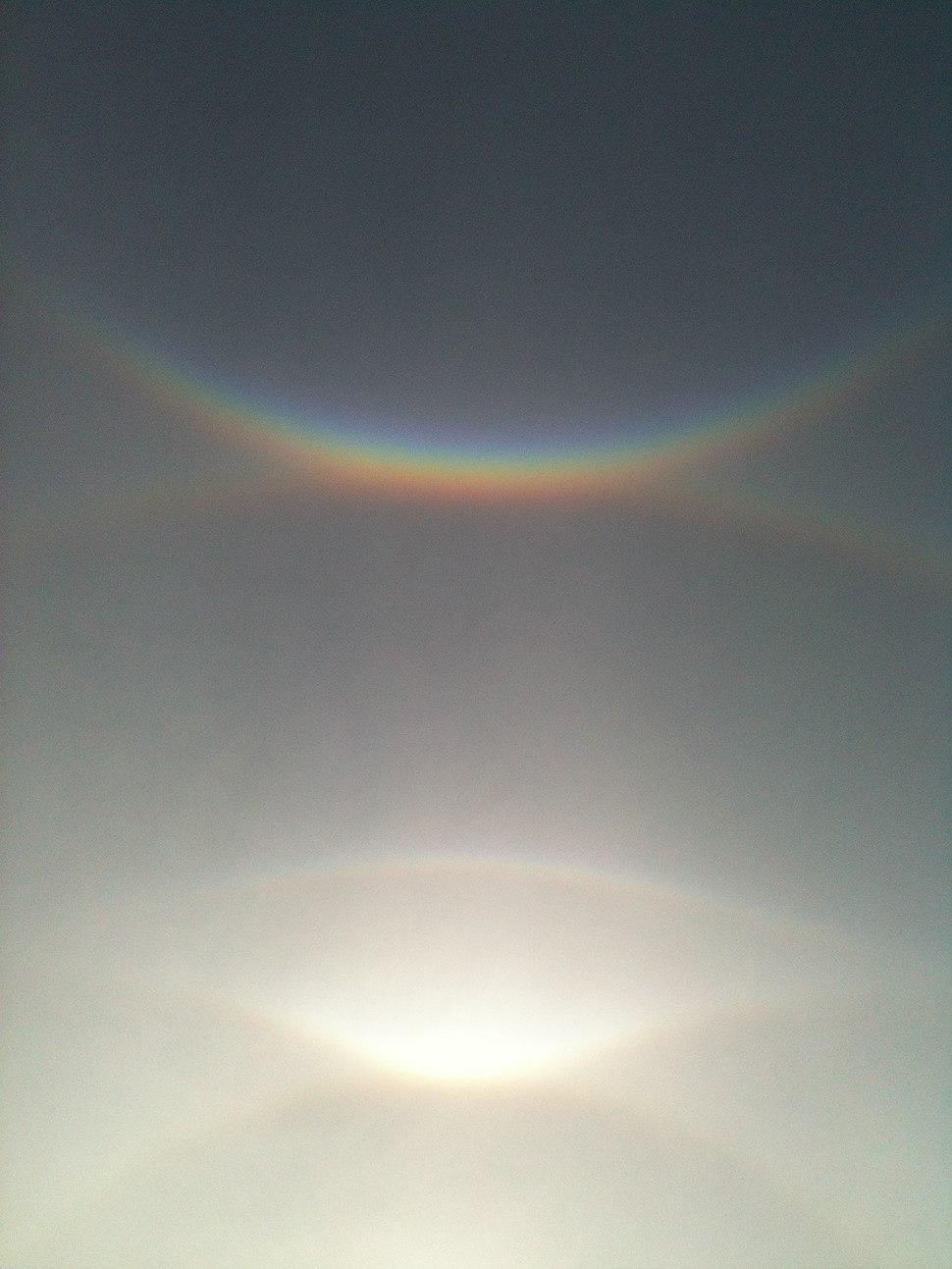 Solar halos, Salem, MA, Oct 27, 2012