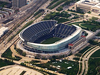 2018 Chicago Bears season - The Bears will play every home game at Soldier Field.