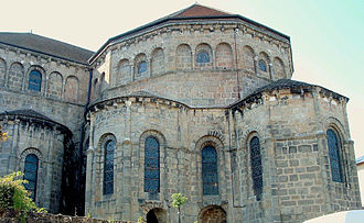 Rodulf (archbishop of Bourges) - The monastery of Solignac, where Rodulf began his ecclesiastical career.