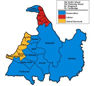 2003 Solihull Metropolitan Borough Council election