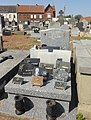 Somain - Cimetière de Somain (B288, tombe d'Achille Andris).JPG