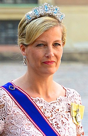 Sophie, Countess of Wessex - The Countess at the wedding of Princess Madeleine of Sweden and Christopher O'Neill in Stockholm, June 2013