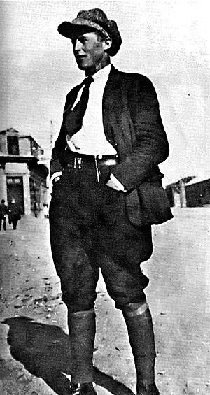 Patagonia Rebelde - Antonio Soto, the Galician anarchist who led the strike. He was one of the few union leaders to survive the massacre by fleeing to Chile.