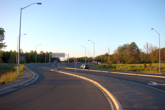 Ontario Highway 406 - The southern end of Highway 406 in Welland