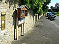 South past the village post box, Ampney St Peter, Gloucestershire - geograph.org.uk - 3076552.jpg