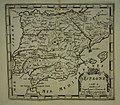 """Spain and Portugal from """"L'Atlas en Abrege ou Nouvelle Description du Monde,"""".jpg"""