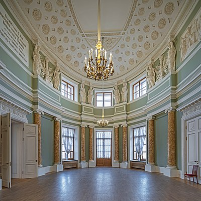 Oval Hall of St. Michael's Castle