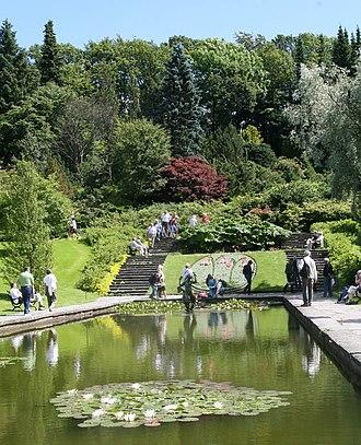 Gothenburg Botanical Garden - Image: Spegeldammen