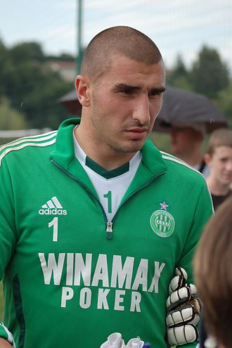 Stéphane Ruffier - Ruffier with Saint-Étienne in 2011