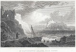 St. Catherine's Island, near Tenby: Pembrokeshire