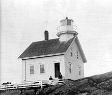 St croix river maine lighthouse 1857 version
