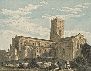 St. David's Cathedral: South West View