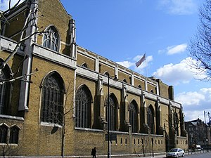 St George's Cathedral, Southwark - Image: St. George's Cathedral geograph.org.uk 1225787