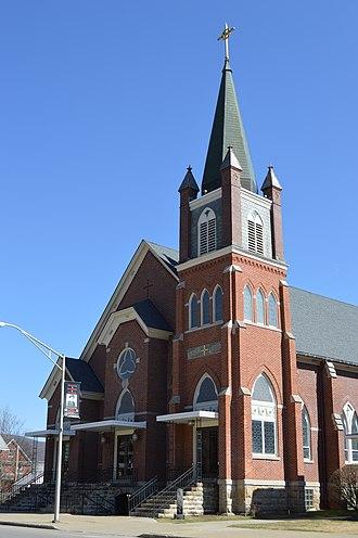 Emporium, Pennsylvania - Image: St. Mark's RCC, Emporium