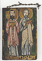 St. Mark and St.Luke; Right cover of The Washington Manuscript of the Gospels.jpg