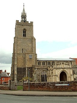 St. Mary's church, Boxford, Suffolk - geograph.org.uk - 164586.jpg