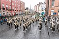 St. Patrick's Day Parade (2013) In Dublin - Purdue University All-American Marching Band, Indiana, USA (8565464455).jpg