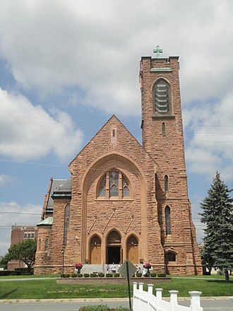 Mechanicville, New York - St. Paul the Apostle Church (Parish of All Saints on the Hudson)