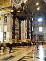 St. Peter's Basilica interior 2010 Vatican (1).jpg