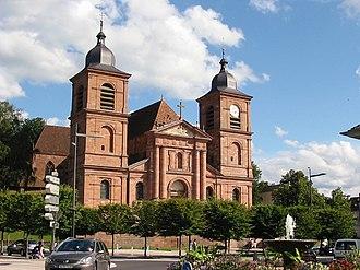 Saint-Dié-des-Vosges - Cathedral