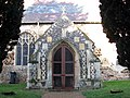 St Andrew's church - elaborate flushwork decoration on south porch - geograph.org.uk - 1634065.jpg
