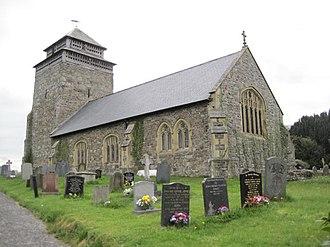 Bettws Cedewain - St Beuno's church