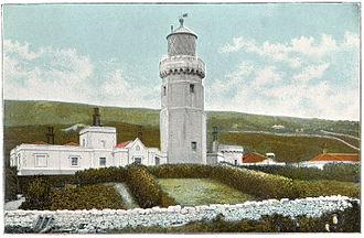 St. Catherine's Lighthouse - The lighthouse c.1910