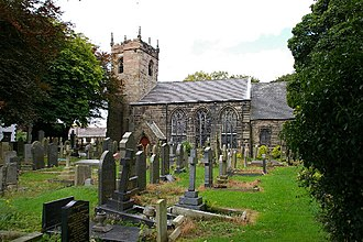 Brindle, Lancashire - Image: St James' Church, Brindle