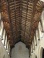 St Peter's church - C15 hammerbeam roof - geograph.org.uk - 1549794.jpg
