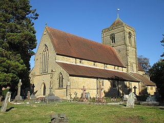St Wilfrids Church, Haywards Heath Church in West Sussex, England