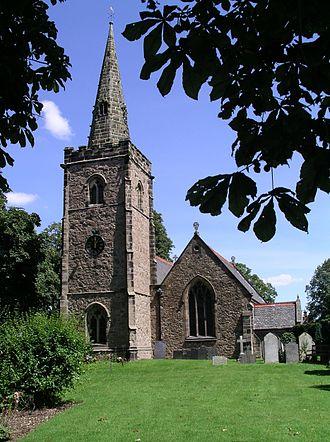Desford - Image: St martins church desford 31l 07