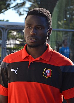 Stade rennais vs USM Alger, July 16th 2016 - Paul-Georges Ntep 6.jpg