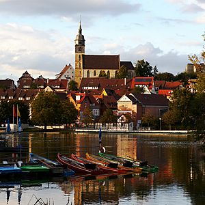 Stadtkirche & Oberer See Böblingen