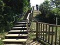 Stairs near Ujoguchi of Sefa-Utaki.JPG