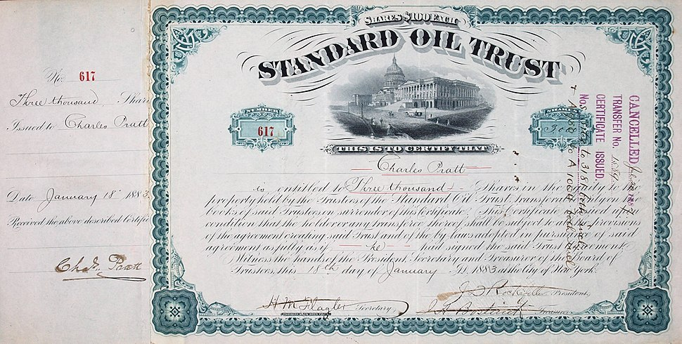 standard oil company dominated the oil refining industry of the us John d rockefeller (1839-1937), founder of the standard oil company, became one of the world's wealthiest men and a major philanthropist born into modest circumstances in upstate new york, he.