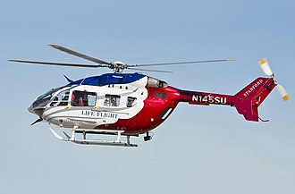 Eurocopter EC145 - A EC145 from the Stanford Medical Center