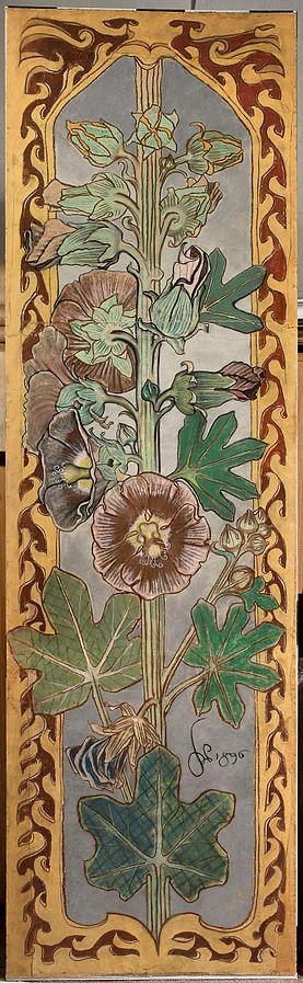 Malwy, projekt polichromii dla kościoła parafialnego w Bieczu w skali 1:1