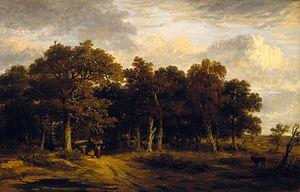 James Stark (painter) - Woody Landscape (n.d.)