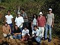 Starr-020103-0027-Pluchea carolinensis-removal by EEWF-Kanaha Beach-Maui (23917351104).jpg