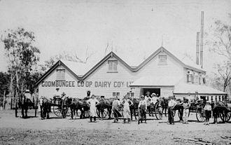 Goombungee, Queensland - Goombungee Co-op Dairy Company, circa 1905