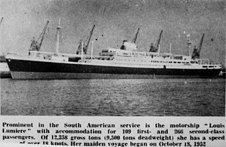 Chargeurs - Image: State Lib Qld 1 142103 Louis Lumiere (ship)