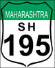 State Highway 195 shield}}