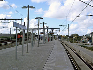 Forepark RandstadRail station RandstadRail station and metro stop in The Hague