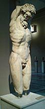 Άγαλμα του Μαρσύα, 3ος αιώνας π.Χ., από την Ταρσό, Αρχαιολογικό Μουσείο Κωνσταντινούπολης.