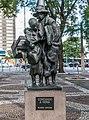Statue in São Paulo downtown in Praça Dr. João Mendes.jpg