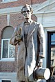 Statue of Lincoln, Marshall, IL, US (02).jpg