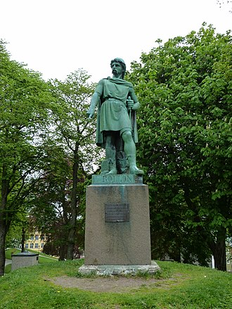 Kingdom of Norway (872–1397) - Statue of Rollo in Ålesund, Norway.