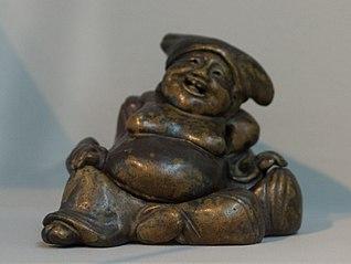 Statue de Hotei